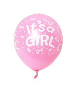 Printed Latex Balloon- Its a Girl