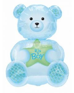 anagram superfoil its a boy teddy bear balloon