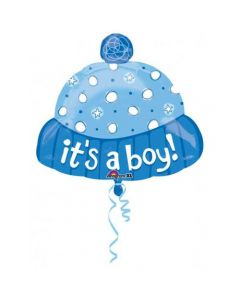 "Anagram 18"" Its a Boy Hat Balloon"