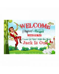 Jack & The Beanstalk Theme Entrance Banner / Door Sign