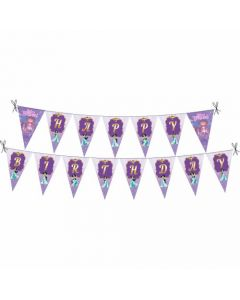 Jasmine and Aladdin Theme Bunting
