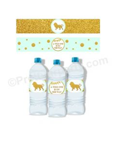 Jungle Baby Shower Bottle Labels