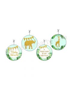 Jungle Baby Shower Danglers