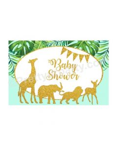 Jungle Baby Shower Table Mats