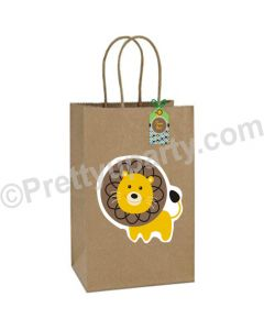 Jungle Safari Theme Gift Bags - Pack of 10