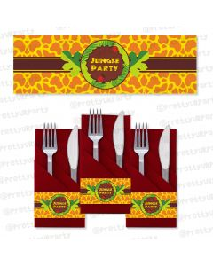 Jungle Napkin Rings