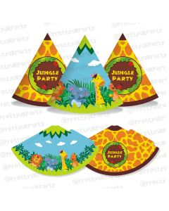 jungle theme hats