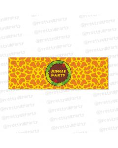 jungle theme wrist bands