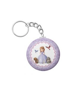 Sofia the first inspired Keychain