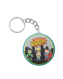 super hero keychain