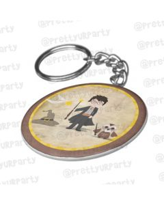 Personalised Harry Potter Keychain