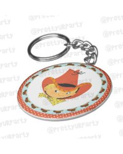 Personalised Little Cowboy Keychain