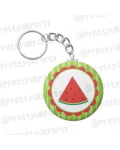 Personalised Watermelon Keychain