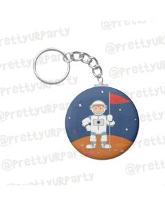 Personalised Space Keychain