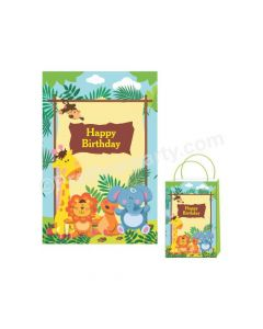 Jungle Theme Khoi Bag / Pinata