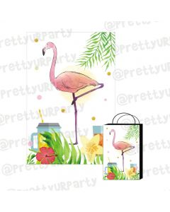 Flamingo Theme Khoi Bag / Pinata