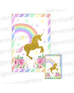 Unicorn Theme Khoi Bag / Pinata