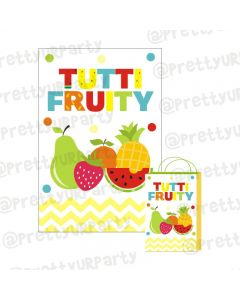 Tutti Fruiti Theme Khoi Bag / Pinata
