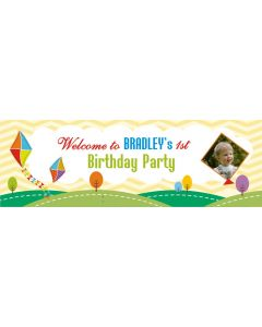personalised kites banner