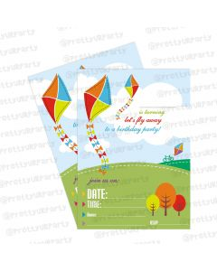 kites theme invitations