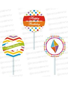 kites cupcake / food toppers