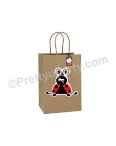 Lady Bug Gift Bags - Pack of 10
