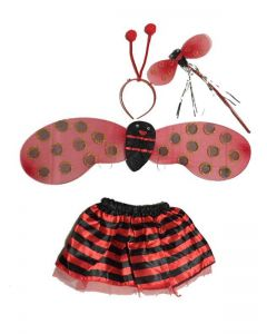 Lady Bug Wings Costume
