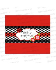 Lady Bug Chocolate Wrappers