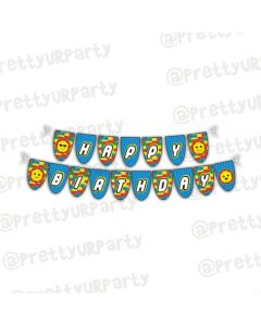 Lego inspired Bunting