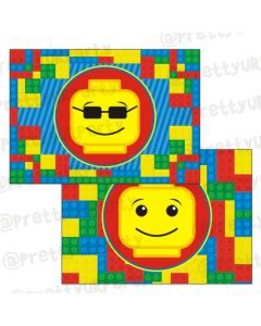 Lego inspired table mats