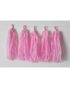 Light Pink Tassle Garland