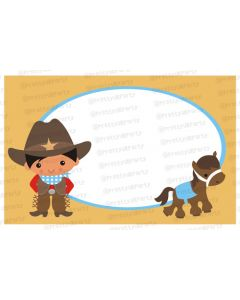 little wrangler table mats