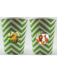 Lion King theme Paper Cups
