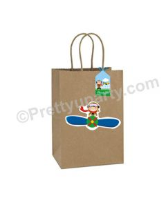 Little Aviator Theme Gift Bags - Pack of 10