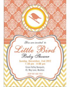 Little Bird E-Invitations