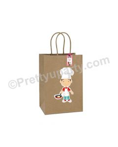 Little Chef Red Gift Bags - Pack of 10