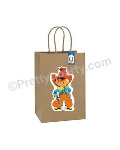 Little Cowboy Theme Gift Bags - Pack of 10