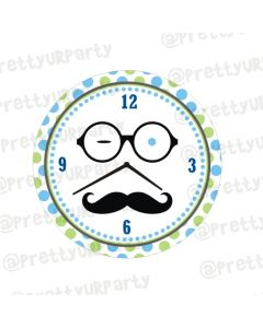 Personalised Little Man Clocks