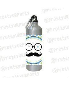 Personalised Little Man Water Bottles
