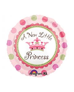 "anagram 18""- little princess foil balloon"