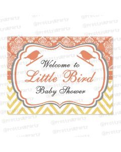Little Bird Entrance Banner / Door Sign
