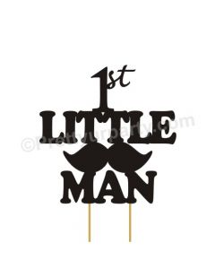 Little Man Cake Topper