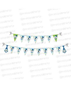 little man theme bunting