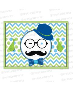 little man theme table mats