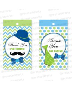 little man theme thankyou cards
