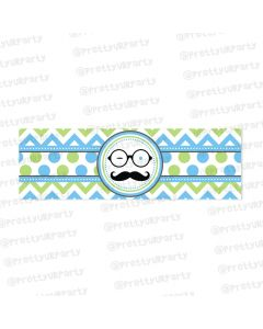 little man theme  wrist bands