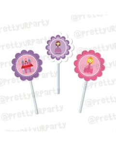 Little Princess  Cupcake / Food Toppers