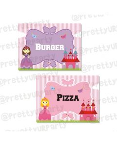 Little Princess  Labels / Buffet Table Cards