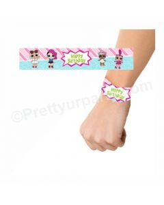 LOL Surprise Theme Wrist Bands