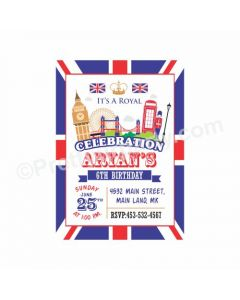 London Theme E-Invitations